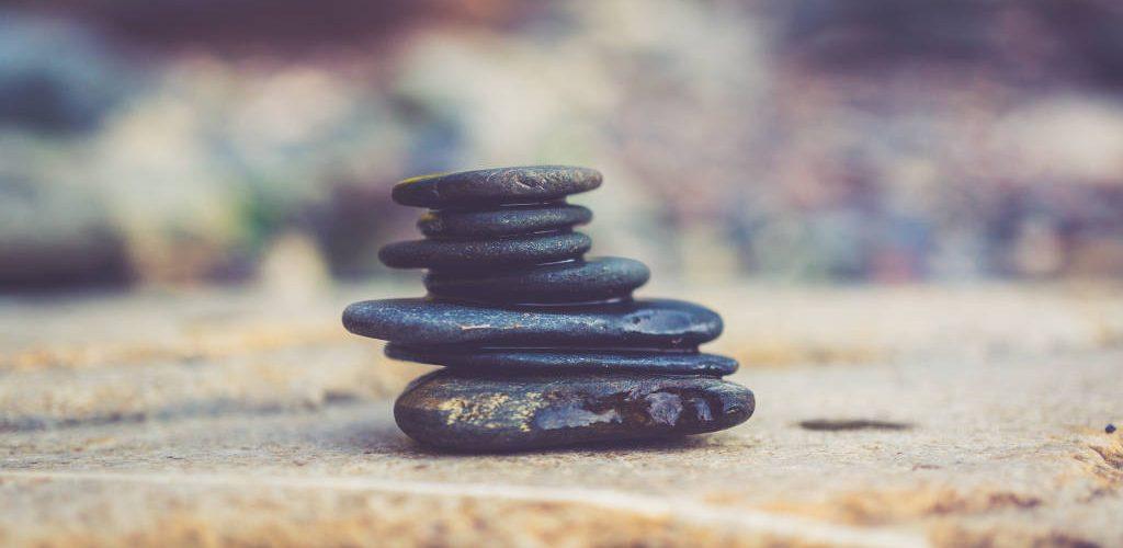 Actividad de Equilibrio con piedras