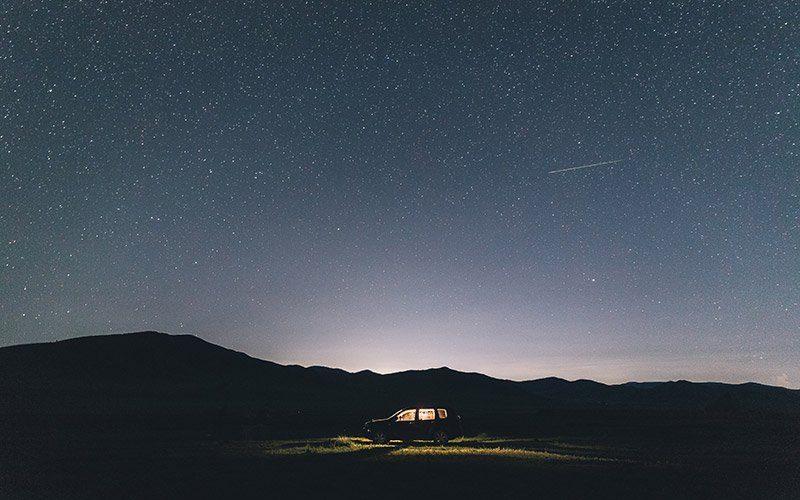 Conducir de noche